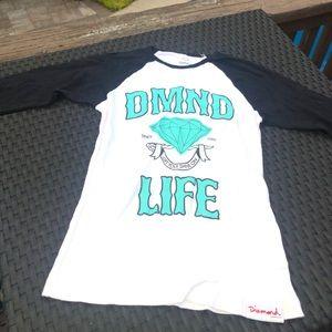 Diamond supply women's shirt